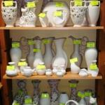 Поступили белые керамические вазы для декупажа и росписи